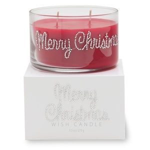 MERRY CHRISTMAS SCENTED BEJEWELED CANDLE